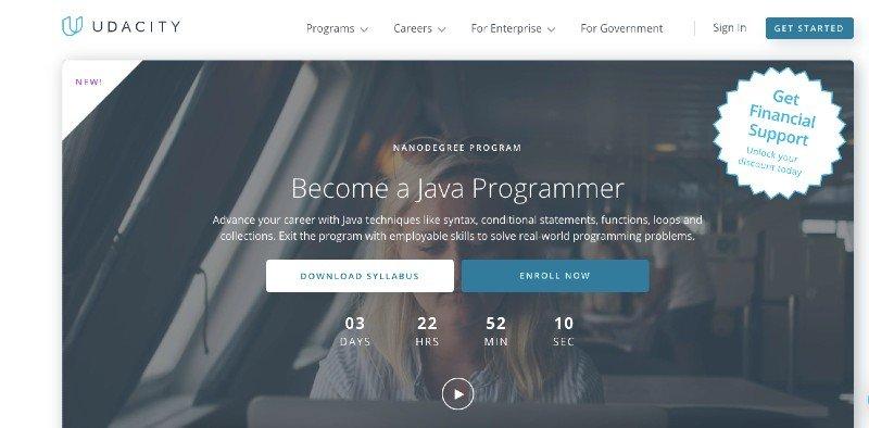 Udacity's Java programmer nanodegree