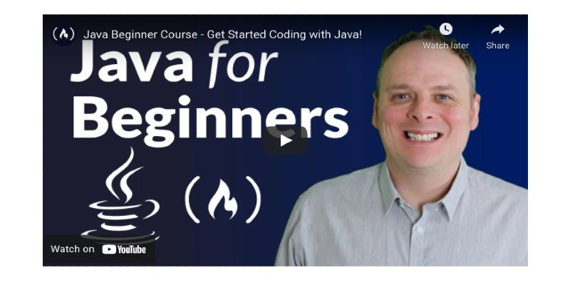 Best free Java course
