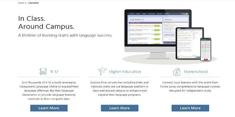 Transparent Language Courses Spanish